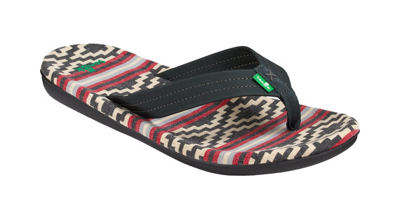 Sanük Planer TX Shoes Men Gaucho Blanket Black Red